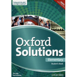 oxford solutions elementary student's book pdf chomikuj
