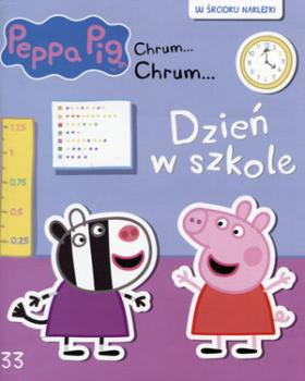 świnka Peppa Chrumchrum33 Dzień W Szkole